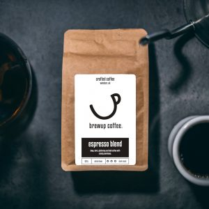 dark roast coffee beans espresso brewup