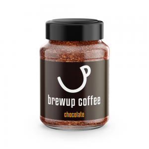 chocolate flavoured instant coffee - brewup coffee