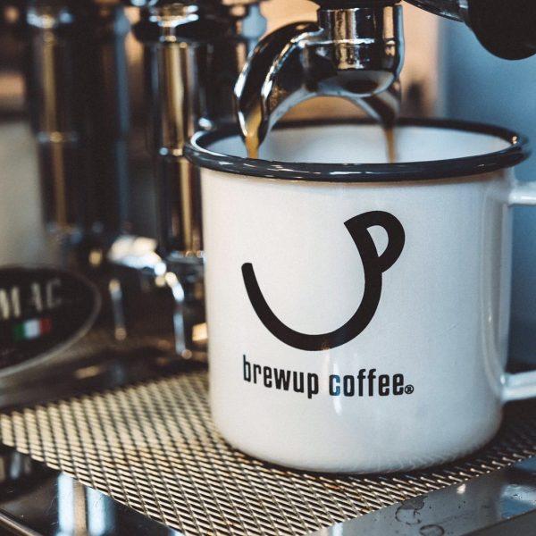 Brewup Enamel Mug Espresso - Brewup Coffee